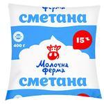 Molochna Ferma Sour Cream 15% 400g