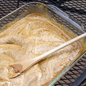 Имбирный маринад из йогурта к мясу