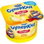 Savushkin SuperKid Banana-apple 2% Yogurt for Children 120g