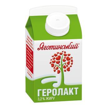 Продукт пищевой кисломолочный Геролакт питьевой 3.2% Яготинский 500г
