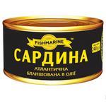 Fishmarine Blanched Sardine in Oil 240g