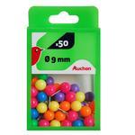 Булавки Ашан кольорові 50шт