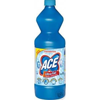 Отбеливатель ACE Gel Automat Ultra 1л - купить, цены на МегаМаркет - фото 1