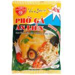 Локшина рисова Bich Chi зі смаком курки 60г