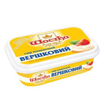 Сир Шостка Вершковий плавлений 45% 150г - купити, ціни на CітіМаркет - фото 2