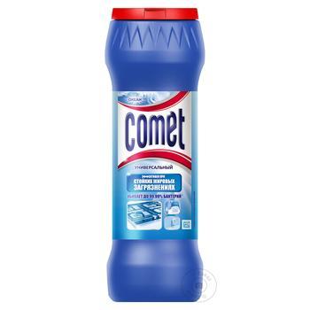 Порошок чистящий Comet Океан универсальный 475г - купить, цены на МегаМаркет - фото 1