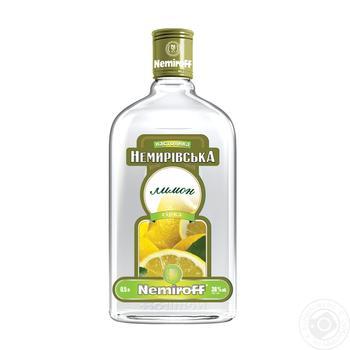 Настойка Nemiroff Немировская Лимон 38% 0.5л - купить, цены на Novus - фото 1