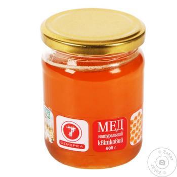 Мёд цветочный 600г