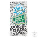 Chocolate black Johnny doodle with a pomade bars 150g - buy, prices for Novus - image 1