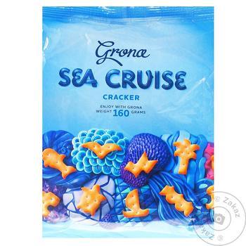 Grona Sea Cruise Cracker 160g - buy, prices for CityMarket - photo 1