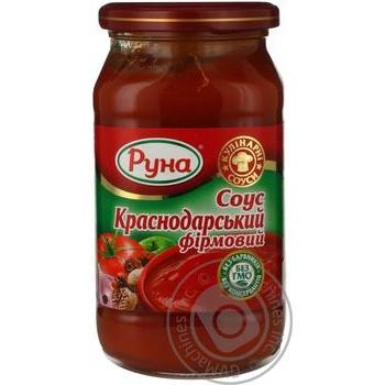 Соус томатный Руна Краснодарский фирменный 485г