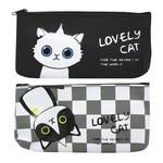 Otten Lovely Cat Mix P3661 Silicone Pencil Case 19,5x10x3cm