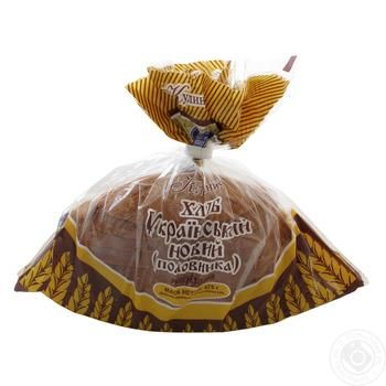 Хлеб Кулиничи Украинский новый половинка нарезка 475г - купить, цены на Novus - фото 1