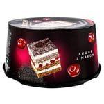 Brioche Cherry Cake with Poppy Seeds 500g