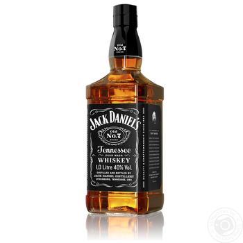 Виски Jack Daniel`s Old No. 7 40% 1л - купить, цены на Фуршет - фото 5