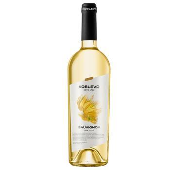 Вино Коблево Совіньйон біле сухе 13% 0,75л - купити, ціни на CітіМаркет - фото 1