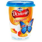 Dolce with peach cottage cheese dessert 0% 400g