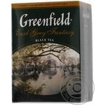 Чай черный Greenfield Earl Grey Fantasy с бергамотом 100г