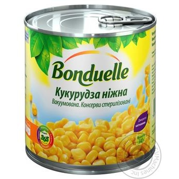 Bonduelle Soft Corn - buy, prices for MegaMarket - image 1