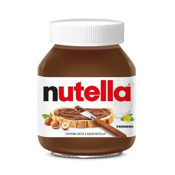 Ореховая паста с какао Nutella 180г - купить, цены на Метро - фото 1