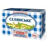 Selyanske sweet cream butter 82% 200g