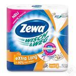 Паперові рушники Zewa Wisch&Weg Kuche&Co 2 шари 2шт