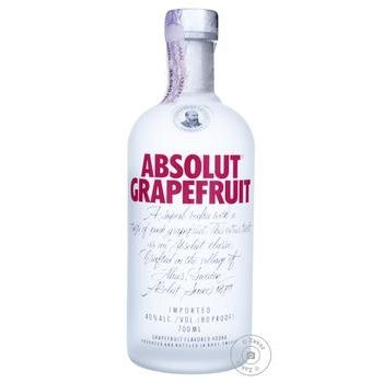 Absolut Grapefruit Vodka 40% 0,7l - buy, prices for Novus - image 1