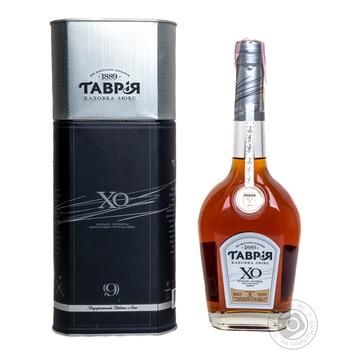 Tavria Kahovka Lux X.O. 9 Yrs Cognac 40% 0,5l - buy, prices for Auchan - photo 1