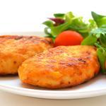 Зразы мясные с картофелем (рецепт для СВЧ)