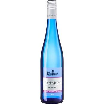 Вино Latinium Гевюрцтрамінер біле напівсолодке 0,75л - купити, ціни на Novus - фото 1