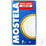 Mostela Motor Oil 10W-40 Turbo Diesel 5L