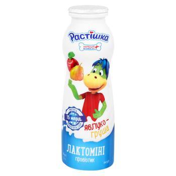 Йогурт Растишка Лактомини Яблоко и груша 1,5% 160г