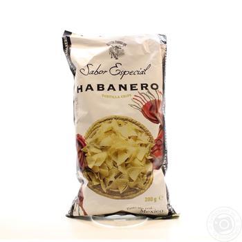 Чипсы Nuevo Progreso Sabor Especial кукурузные со вкусом перца хабанеро