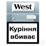 Cigarettes West Original Blend Silver 25pcs