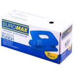 Дырокол Buromax на 10 листов пластиковый в ассортименте