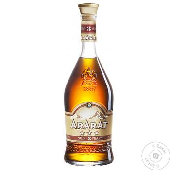 Ararat 3 yrs brandy 40% 0,7l - buy, prices for Novus - image 1