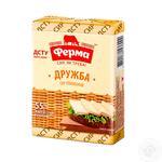 Processed cheese Ferma Druzhba 55% 90g Ukraine