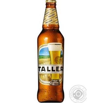 Пиво Taller светлое 0,5л стекло - купить, цены на Novus - фото 1