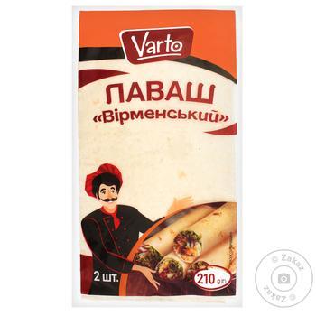 Лаваш Varto Армянский 210г - купить, цены на Varus - фото 1