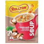 Rollton Mushroom Soup with Croutons Sachet 15.5g