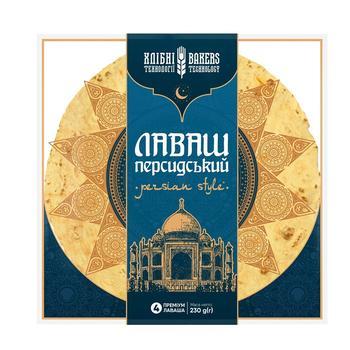 Лаваш Хлібні технології Персидський преміум 4шт 230г - купити, ціни на Ашан - фото 1