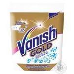 Пятновыводитель и отбеливатель порошкообразный для тканей Vanish Gold Oxi Action Кристальная белизна 250г