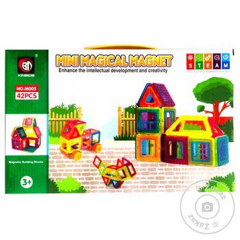 Магнитный конструктор Qunxing Toys 42 детали