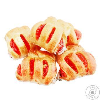 Печиво листкове Norsu Шалене полуниця