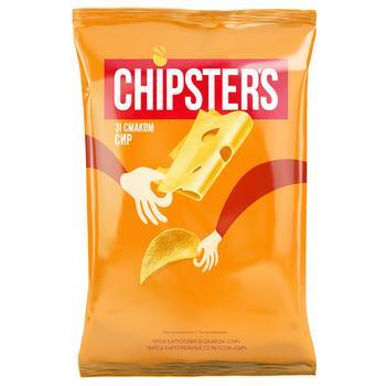 Чипсы Flint Chipster's картофельные со вкусом сыра 130г
