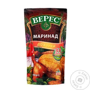 Маринад Верес для курицы 140г - купить, цены на Таврия В - фото 1