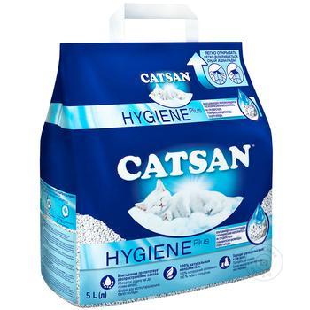 Наполнитель для туалета Catsan для котов 10л - купить, цены на Метро - фото 1