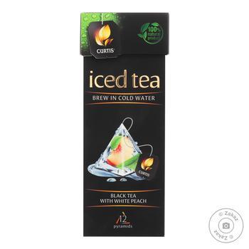 Чай черный Curtis Iced со вкусом персика 15шт*1.8г