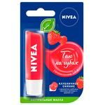 Nivea Strawberry Shine Lip Balm 4.8g