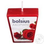 Bolsius Aromatic Rose Candle 4.7х4.7cm 1pc